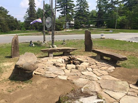 The new rock garden at Sticks and Stones. Photo courtesy Sticks and Stones.