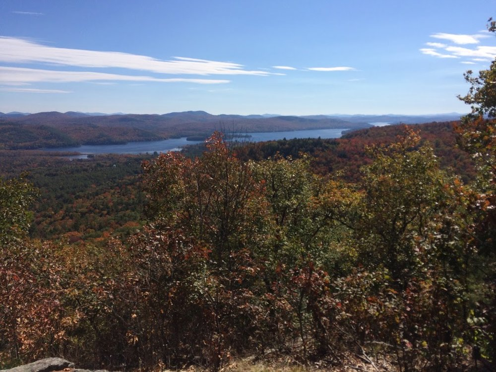 The view from the top of Mount Severance. Schroon Laker Collection. All Rights reserved.