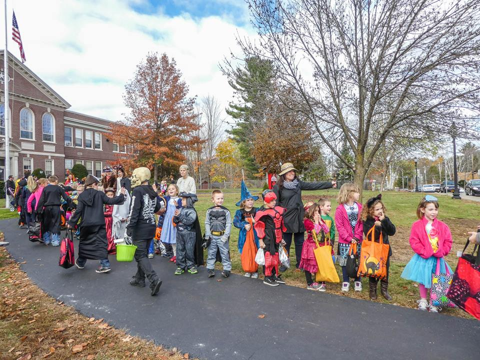 Ghosts and Goblins and Super heroes of all shapes and sizes dazzled Main Street during the Annual Schroon Lake Central School's Halloween Parade.