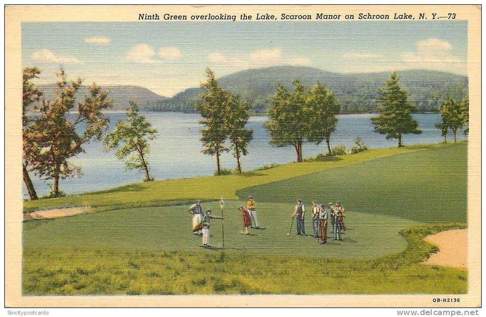 Golf, Anyone? Schroon Manor!