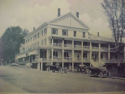 The Ondawa Hotel, Stewarts is located today, was one of the jewels of Adirondack Resort Hotels. The Ondawa was built by Josiah Rawson, and was first called the Schroon Lake House.