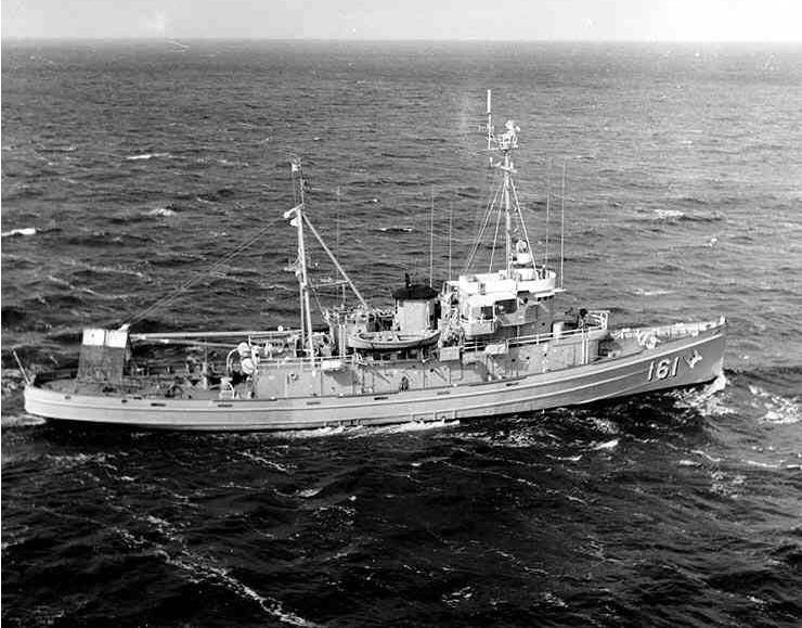 Bill CHRISTIAN served in the United States Navy from 1956 to 1962 as a Boatswain's Mate aboard the USS Salinan.
