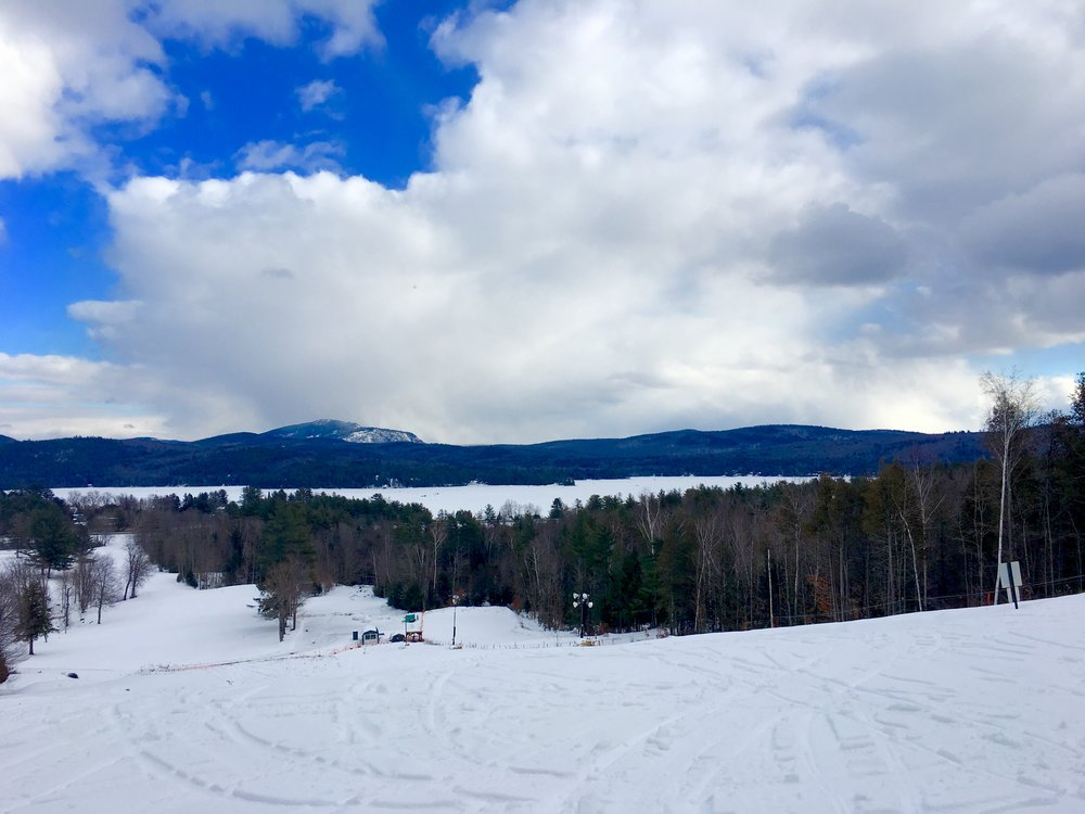 View From atop The Schroon Lake Golf Course