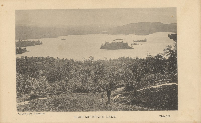 Photo of Blue Mountain Lake by Seneca Ray Stoddard