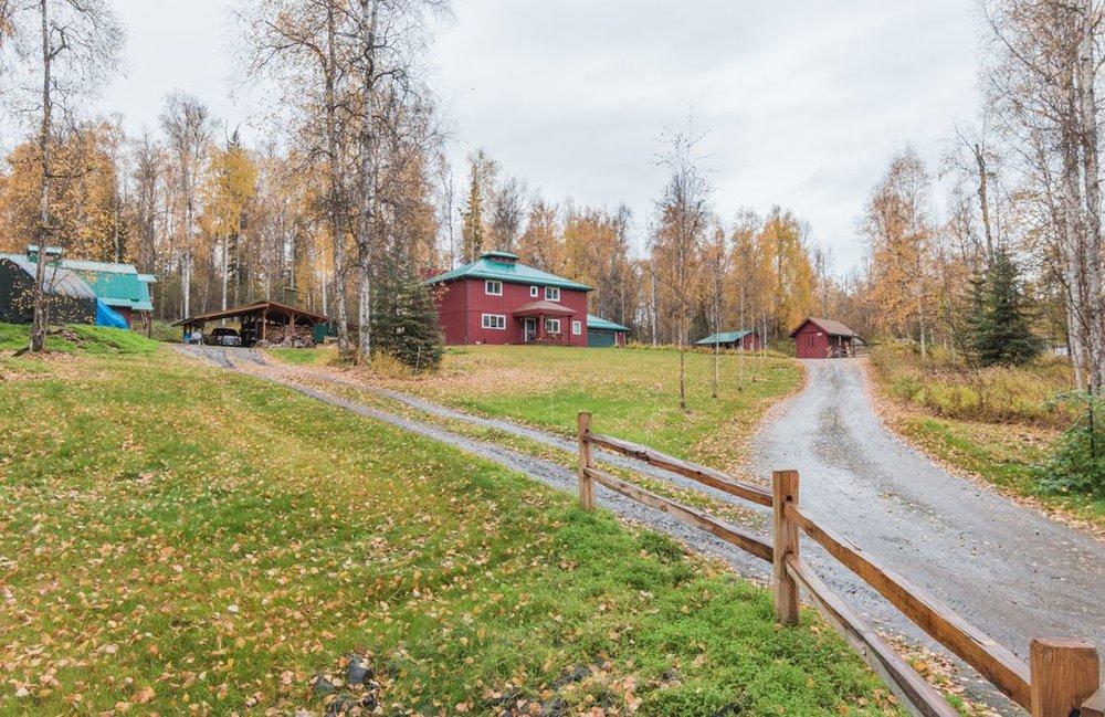 The Top of the Hill Farm near Fairbanks. (Photo Credit: Doug Lange)