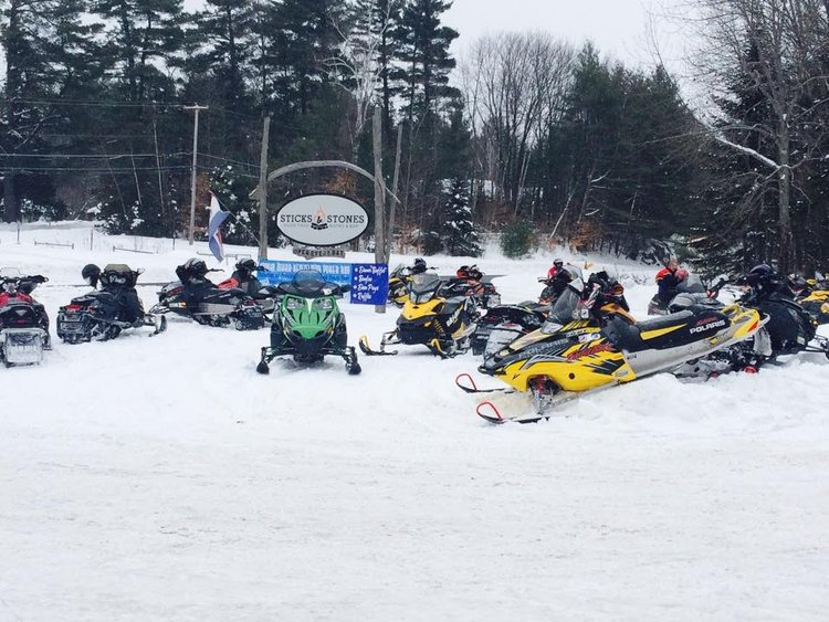 Sledders in 2018 at Schroon's Sticks and Stones