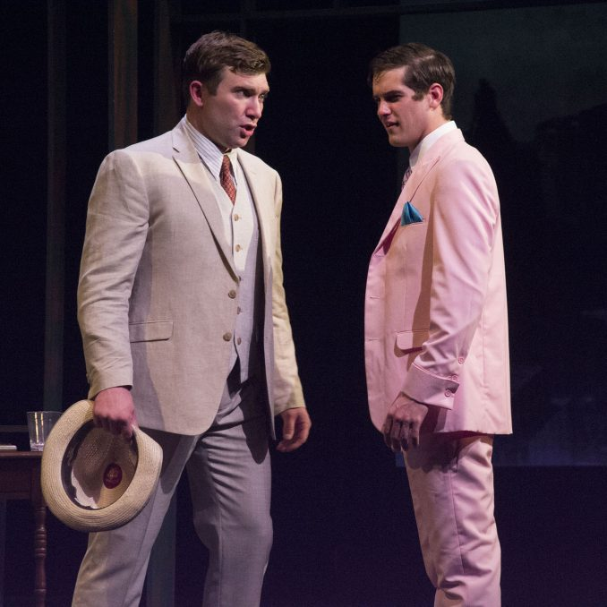 2018 Emerging Artists Anthony Rohr & David Anderson in THE GREAT GATSBY. Photo courtesy SMC.