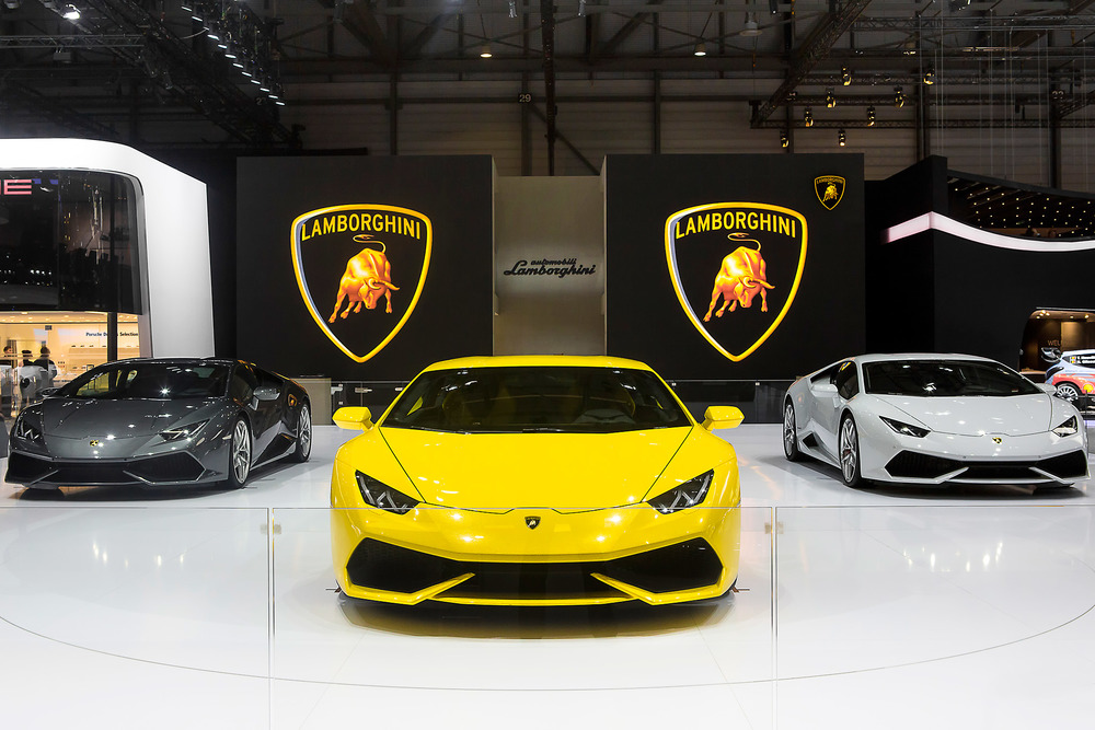 Lamborghini Huracan family