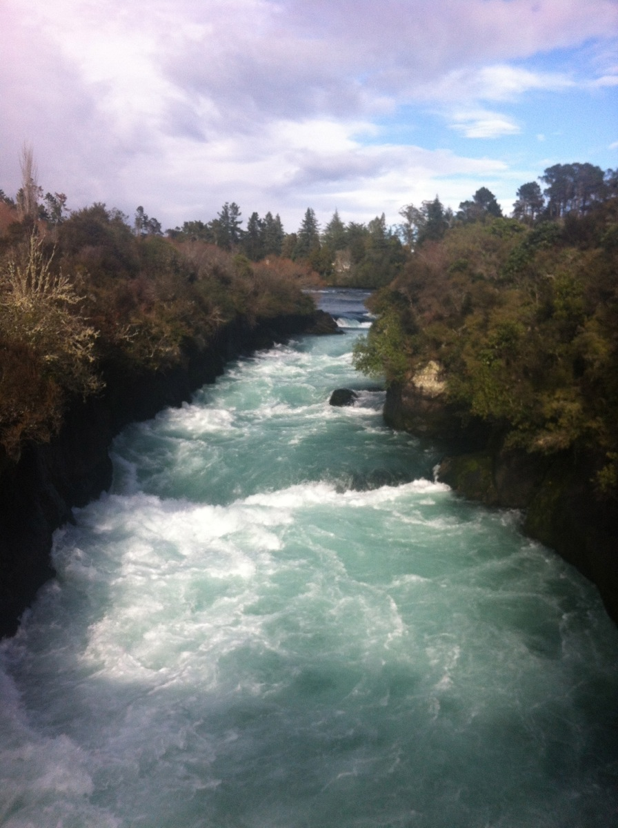 Beautiful Huka Falls