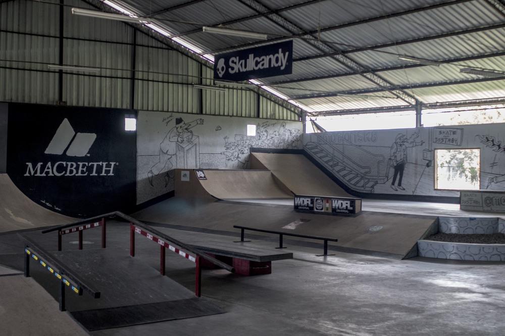 skate park layout