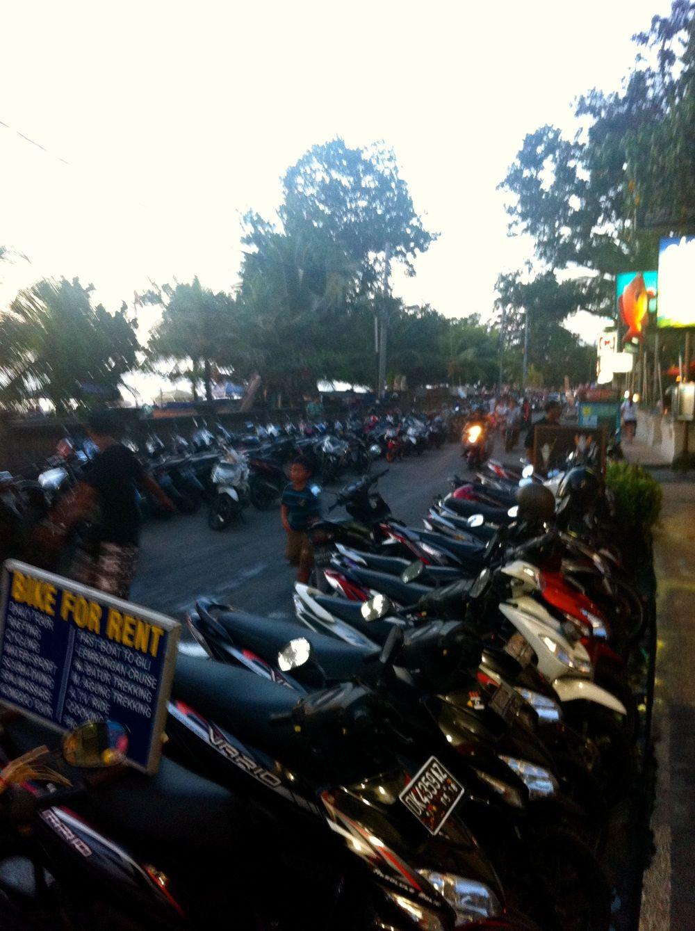 Motorbike Anyone?