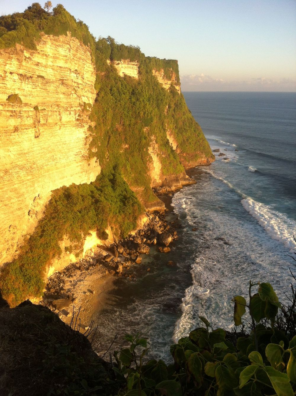 Sunset at Uluwatu Temple