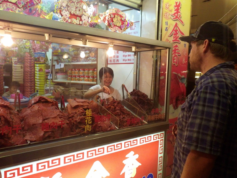 Picking Spicy Dried Meats