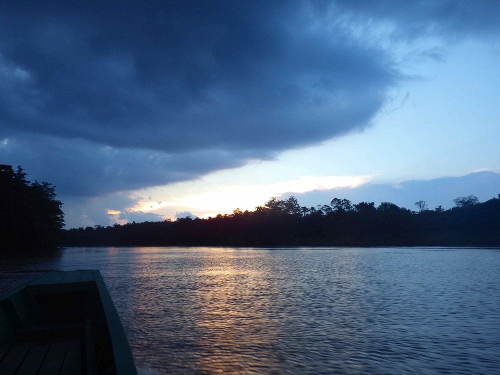 Sunsets Over the Kinabatangan