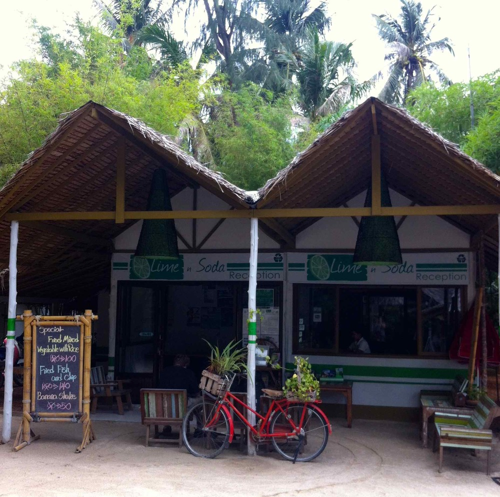 First Stop on Koh Phangan