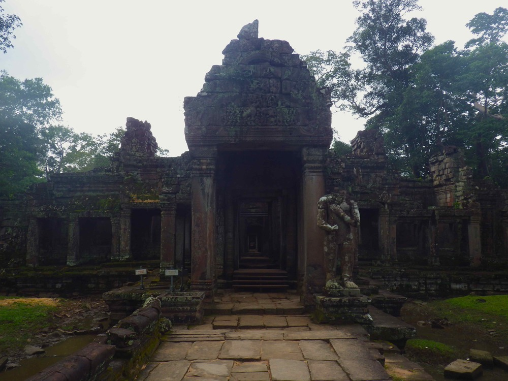 Preah Kahn all to ourselves