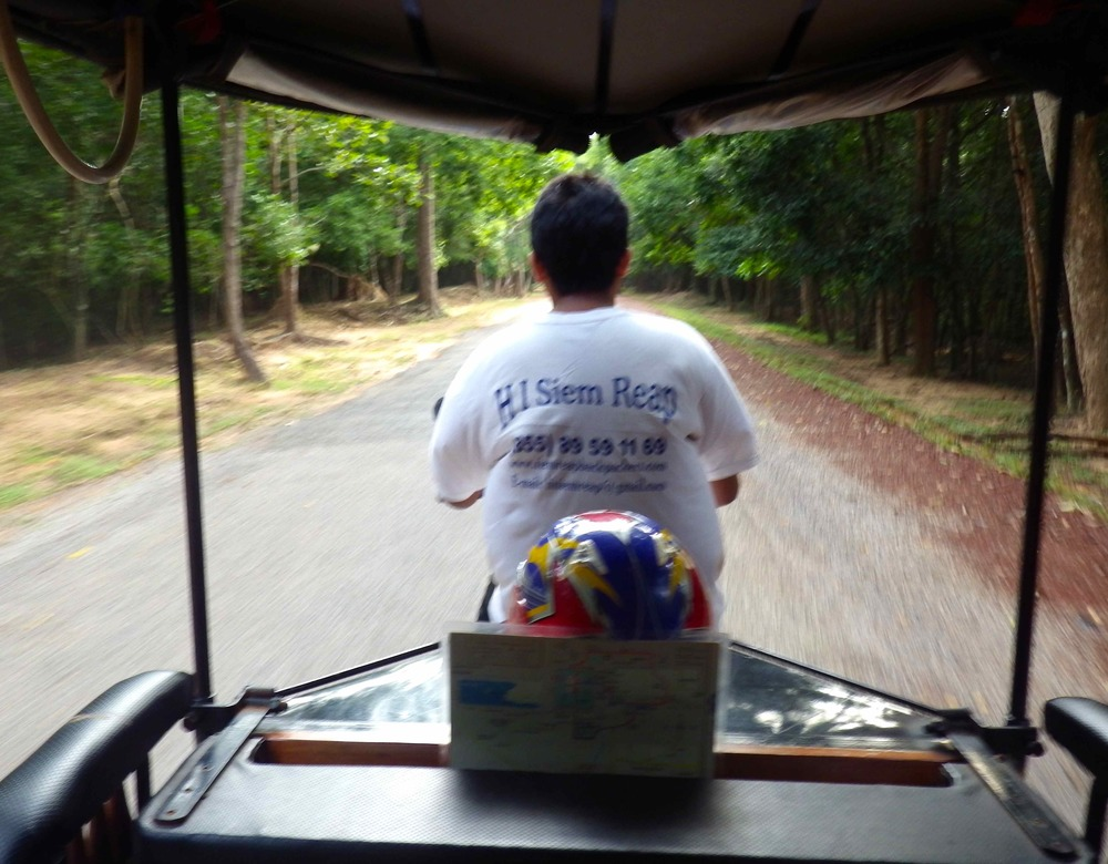 This is how you roll… in a tuk-tuk