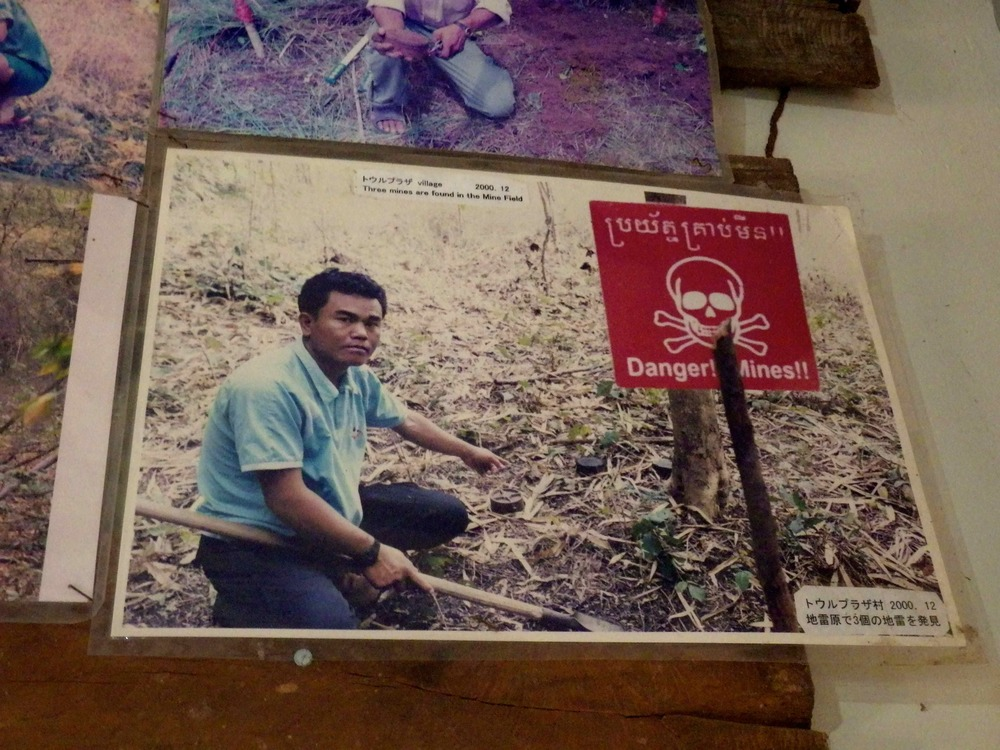 Aki Ra, Founder of the Cambodia Landmine Museum