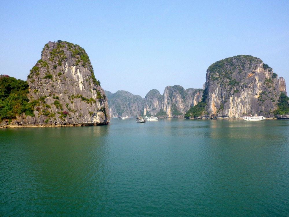 First View of Ha Long Bay