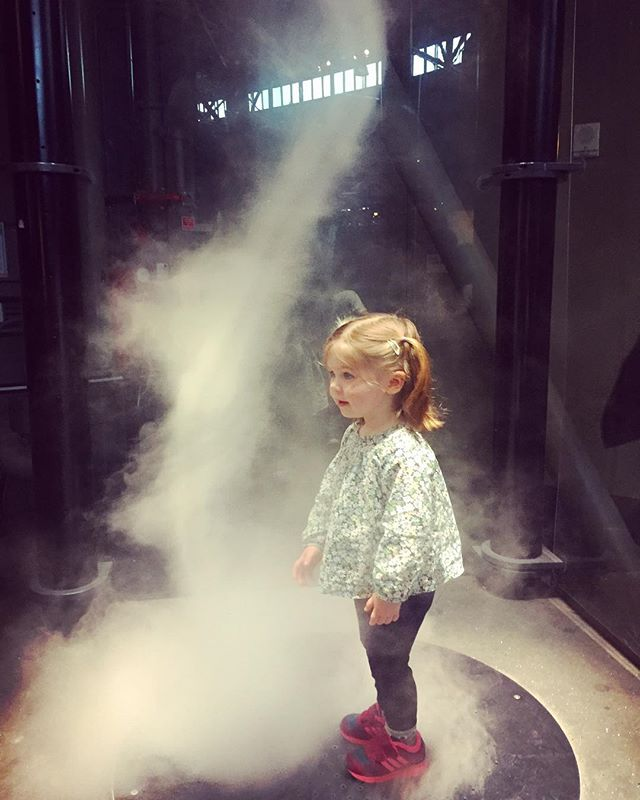 This place is all smoke and mirrors... #foggy #playtime #palomashirt ❤️
