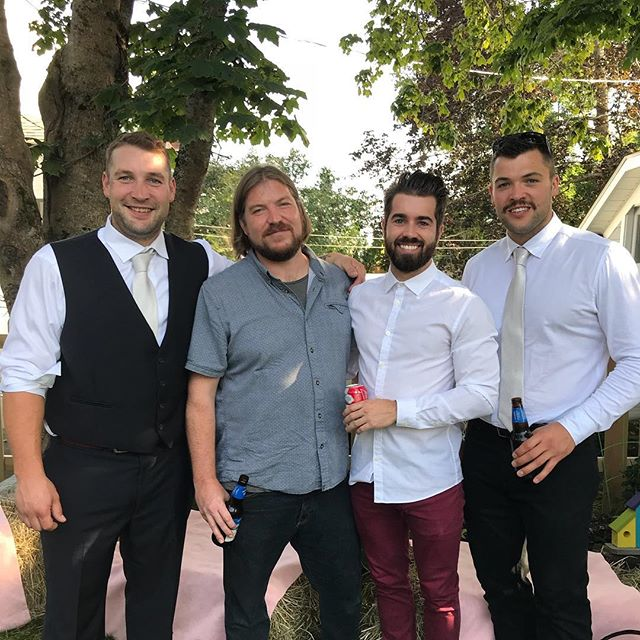 #handsomecuzcrew Hit and run weekend mission to New Brunswick for my cousins wedding party. Congrats @epyc_ise and @almh88, I wish I could have partied longer. #iforgotofficalweddinghashtag
