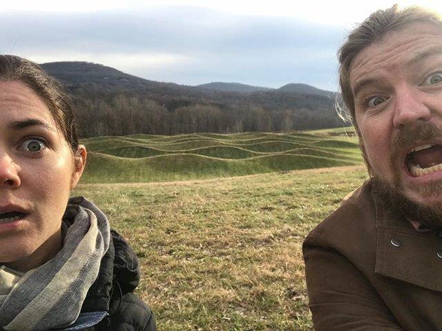 #obligatoryselfie at Storm King waves, meanwhile our child is nowhere in sight but what a day ❤️