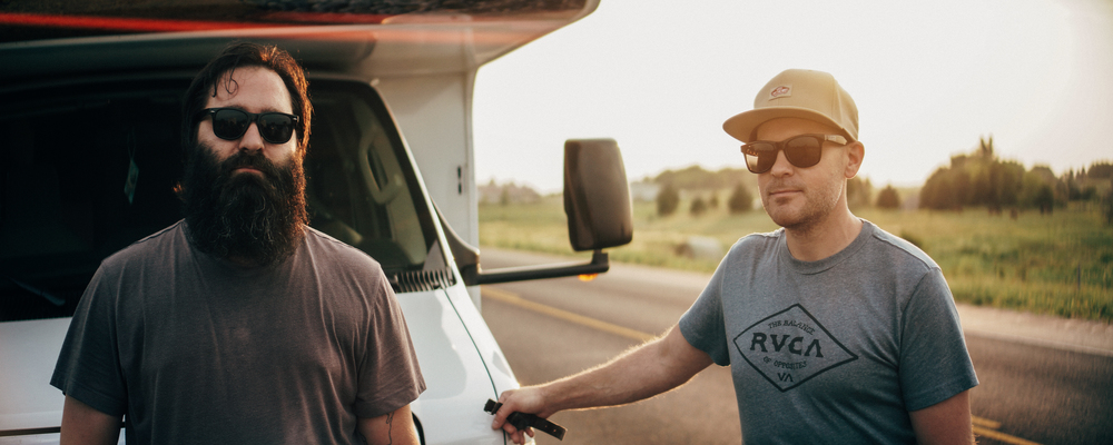 Rider, Eric Pierson and I after a quick riding session before hitting Sturgis. Photo Credit: Alex Horner.