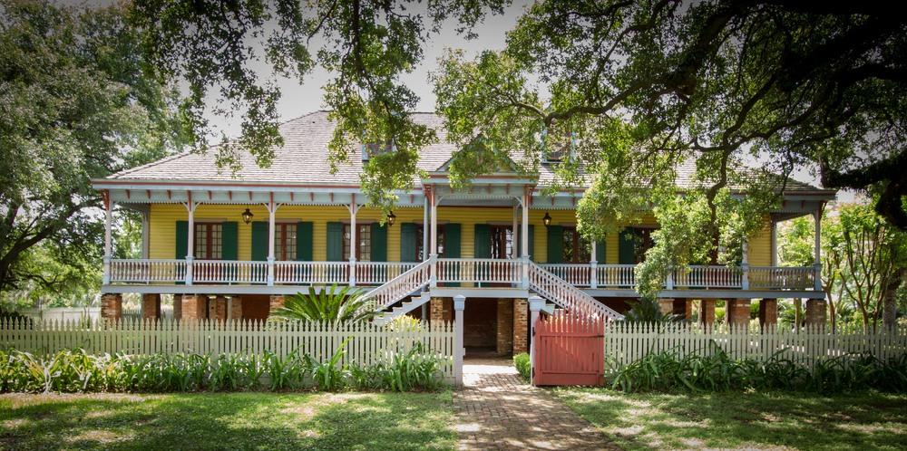 A Creole Plantation house - Laura Plantation