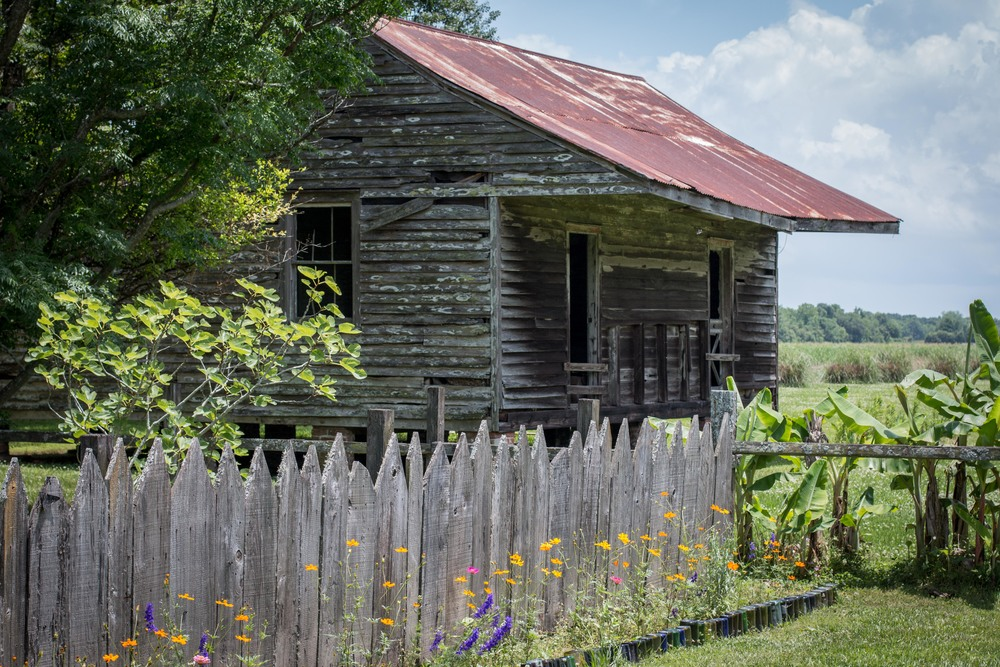 Slave duplex - Laura Plantation
