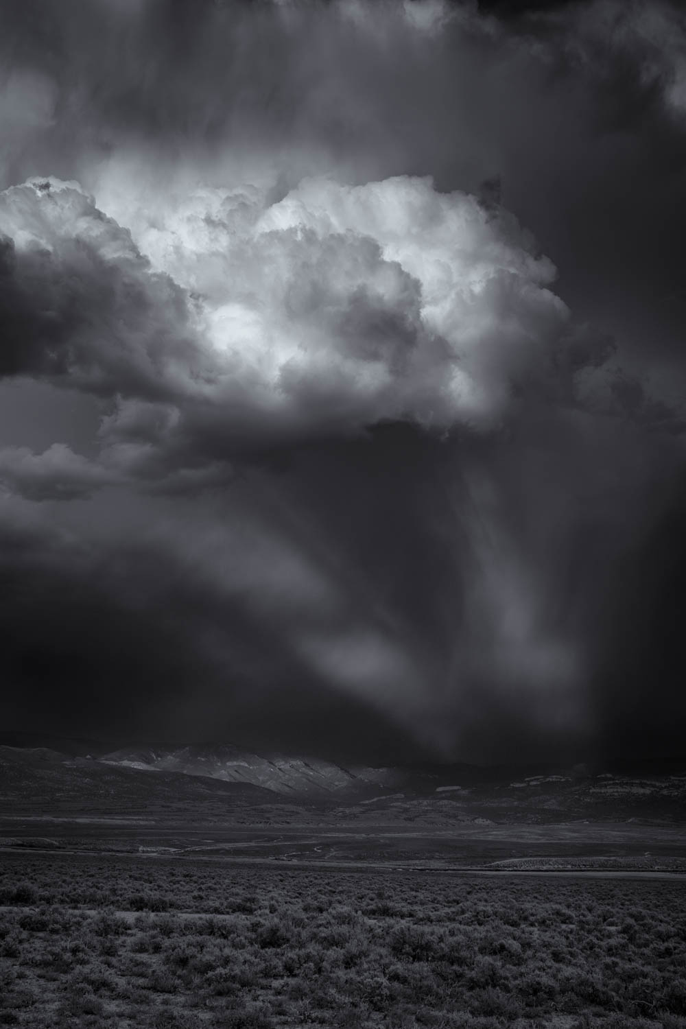 Nevada Sunset Storm BW.jpg