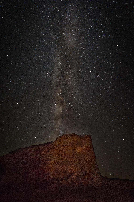Cliff, Milkey Way and meteorite.jpg