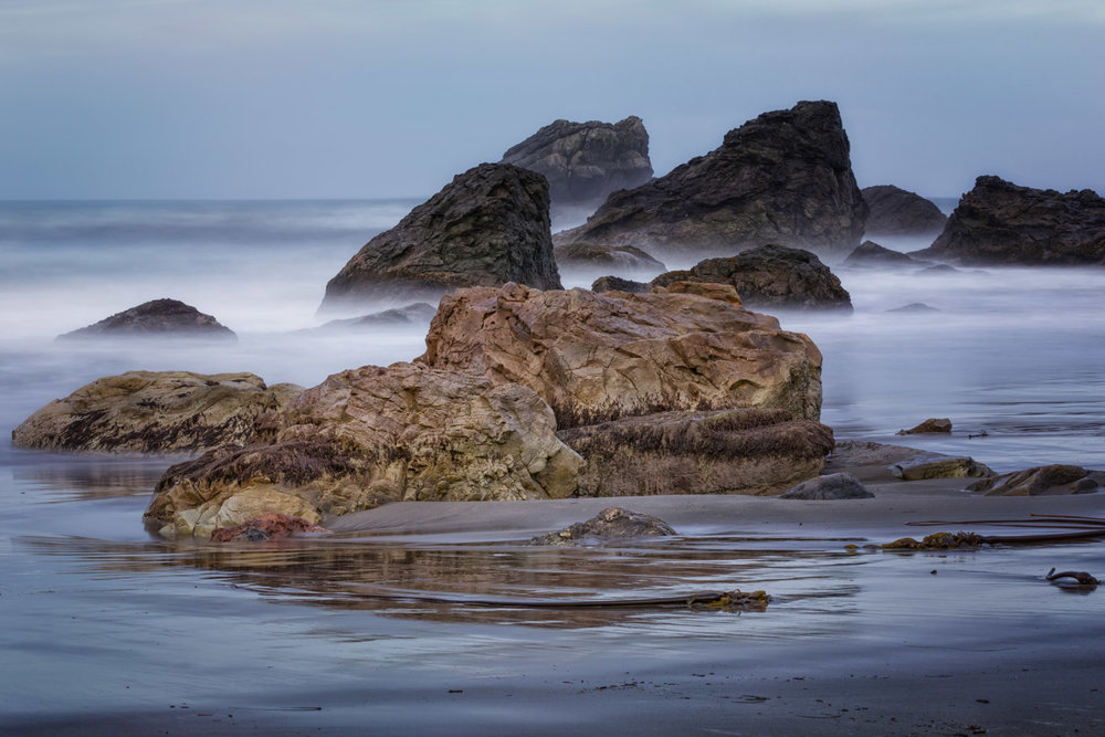 Reclining rock