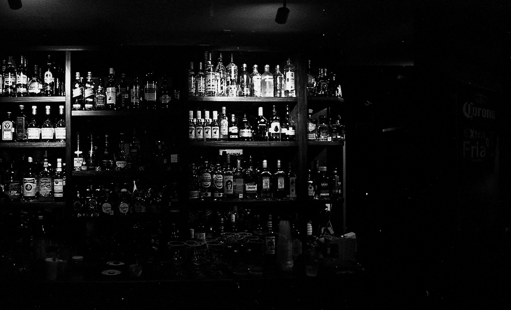 One of many many bars that one night in Guadalajara