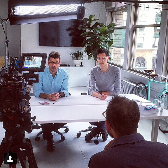 Regram from @schlaf: shooting with @ridebrilliant at RRE flatiron today.