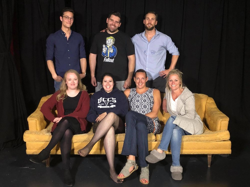 (Pictured above is the Meisner Technique 1st Year Class)   Meisner Technique First Year Graduation Scene Night  Tuesday May 22, 2018 @ 7:30pm  ( Ticket link  for $10 tickets)