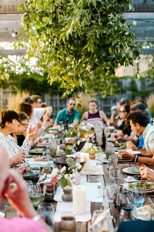 Great Lakes Farm Dinner // Chicago, Illinois // 2017