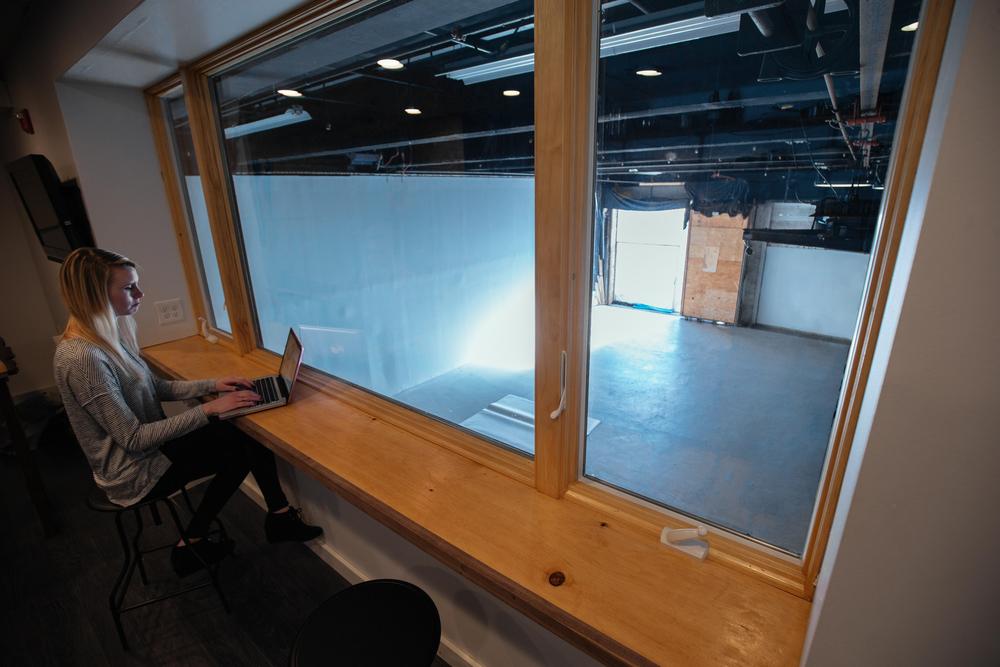 Sound-Proofed Mezzanine