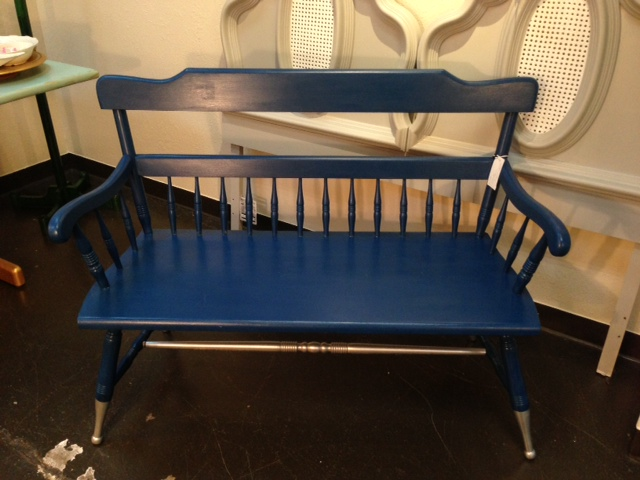 Midnight in Paris Bench   $200