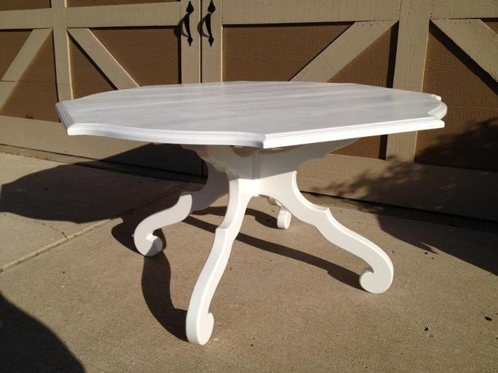 Glossy White Game Table   $375