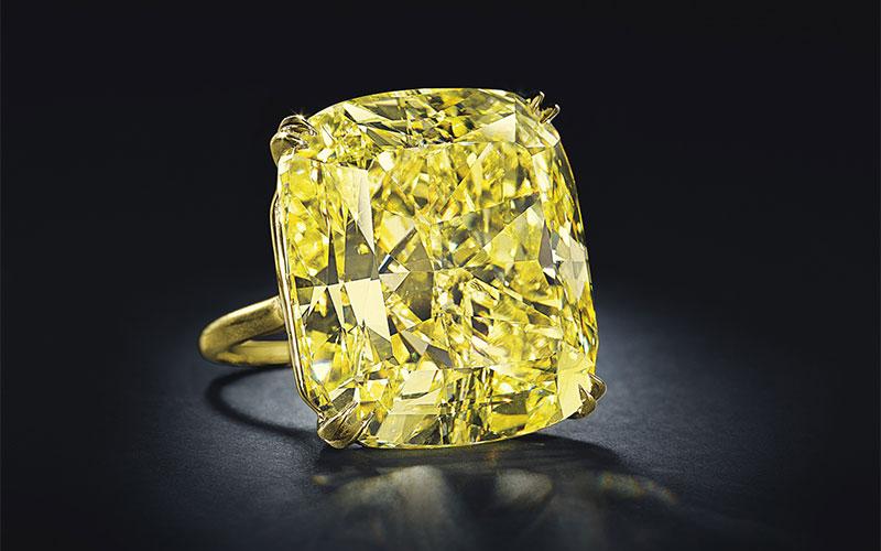 The Fancy Yellow Vivid Diamond