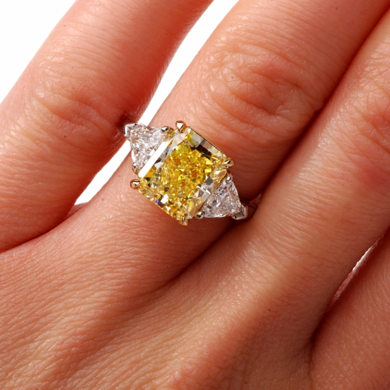9157f1ee9b1 This is why we recommend buying something which is a bit more unique. Fancy  Intense Yellow Diamonds and Fancy vivid ...