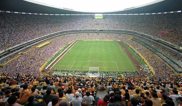 Estadio Azteca, Mexico City, where the All Whites will be greeted by 105,000 fans ahead of the 1st leg on Nov 14. Come on lads!!!