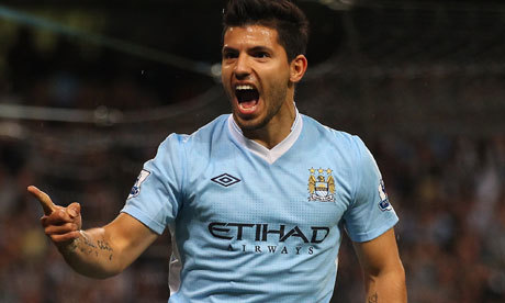 Sergio Aguero. Image: Alex Livesey/Getty Images