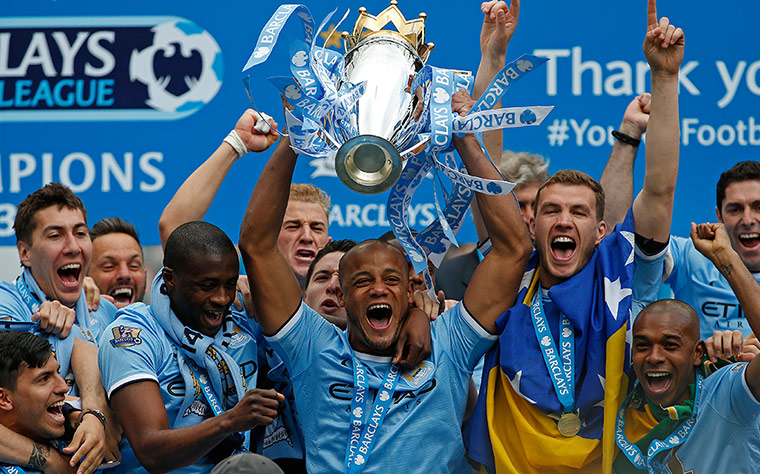 Man City are EPL champs again!