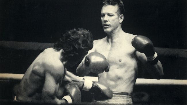 mickey rourke boxing movie