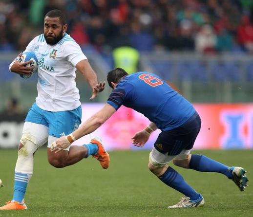 Samuela Vunisa doesn't sound like he's Italian, but he plays for Italy so he's Italian