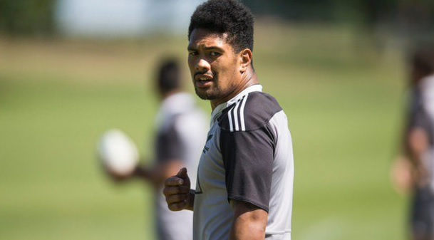 Ardie Savea, where? There, in the All Blacks Sevens gear.