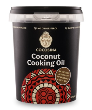 We love CocoSina Coconut Oil. Made from Samoan coconuts, in Samoa and supporting local Samoan farmers!