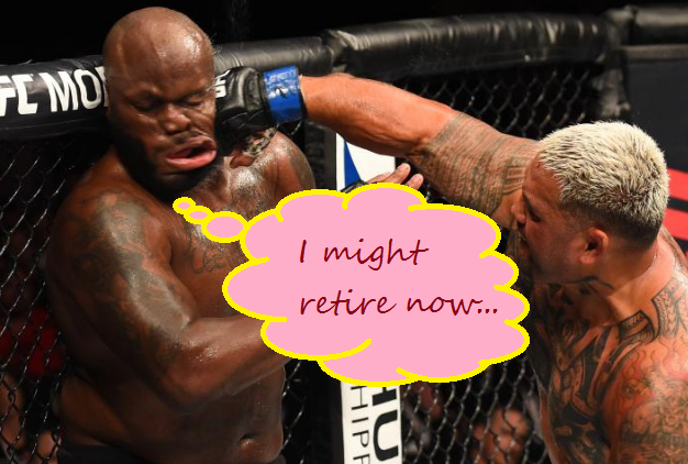 Mark Hunt ain't retiring anytime soon tho.