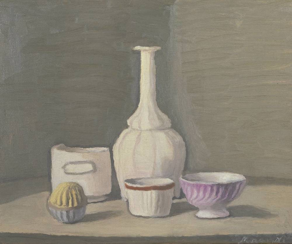 Giorgio Morandi, Natura Morta, 1946  Photo source: http://www.tate.org.uk/art/artworks/morandi-still-life-n05782